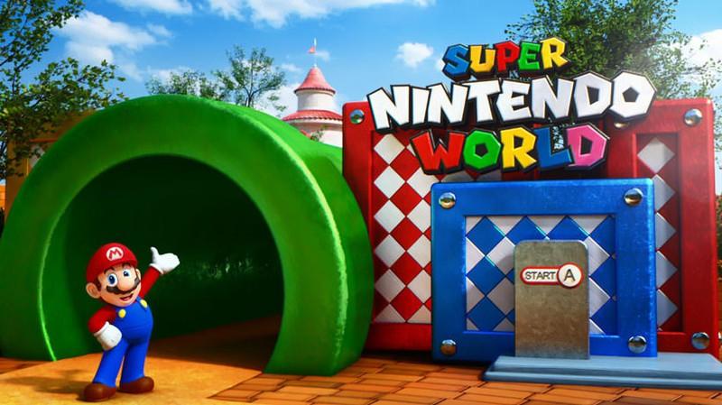 ユニバーサル・スタジオ・ジャパン®」の「SUPER NINTENDO WORLD」、オープンに向けていよいよ始動! 建設着工式の様子をご紹介します。  | トピックス | Nintendo