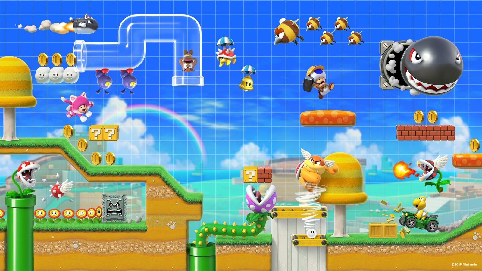 任天堂キャラクターが登場する壁紙を揃えました トピックス Nintendo