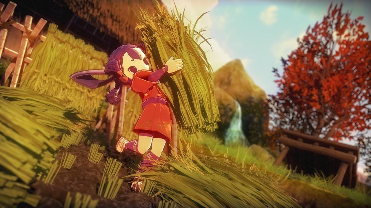 米を育てて強くなれ、和風アクションRPG『天穂のサクナヒメ』が11月12 ...