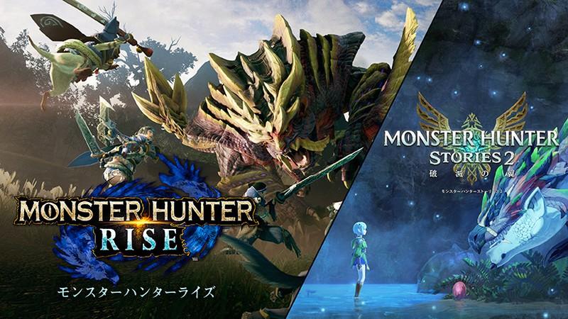 シリーズ完全新作『モンスターハンターライズ』『モンスターハンターストーリーズ2 ~破滅の翼~』が、Nintendo Switchで登場。 |  トピックス | Nintendo