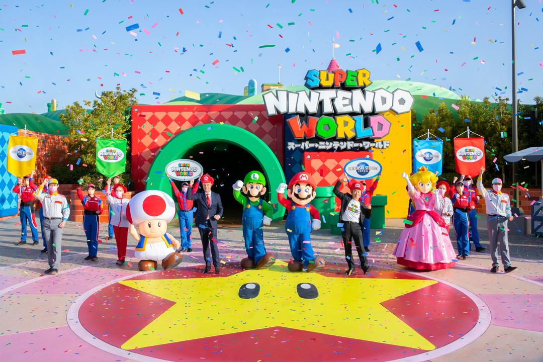"""ニンテンドー ワールド スーパー USJ""""スーパーニンテンドーワールド""""先行体験リポート。とにかくすごい! ゲームで見ていたマリオの景色が目の前に広がる夢のような空間!!"""