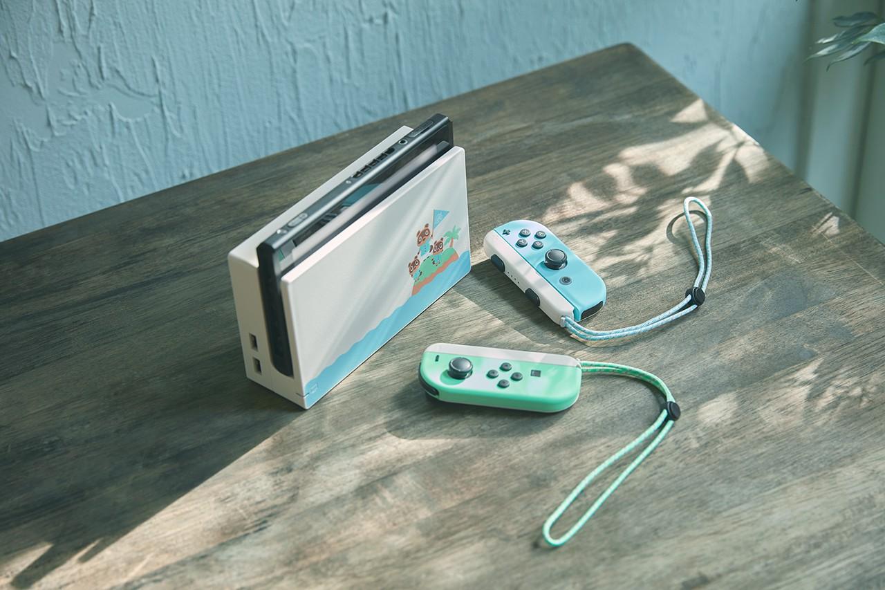 El diseño de la nueva Switch inspirado en Animal Crossing: New Horizons.