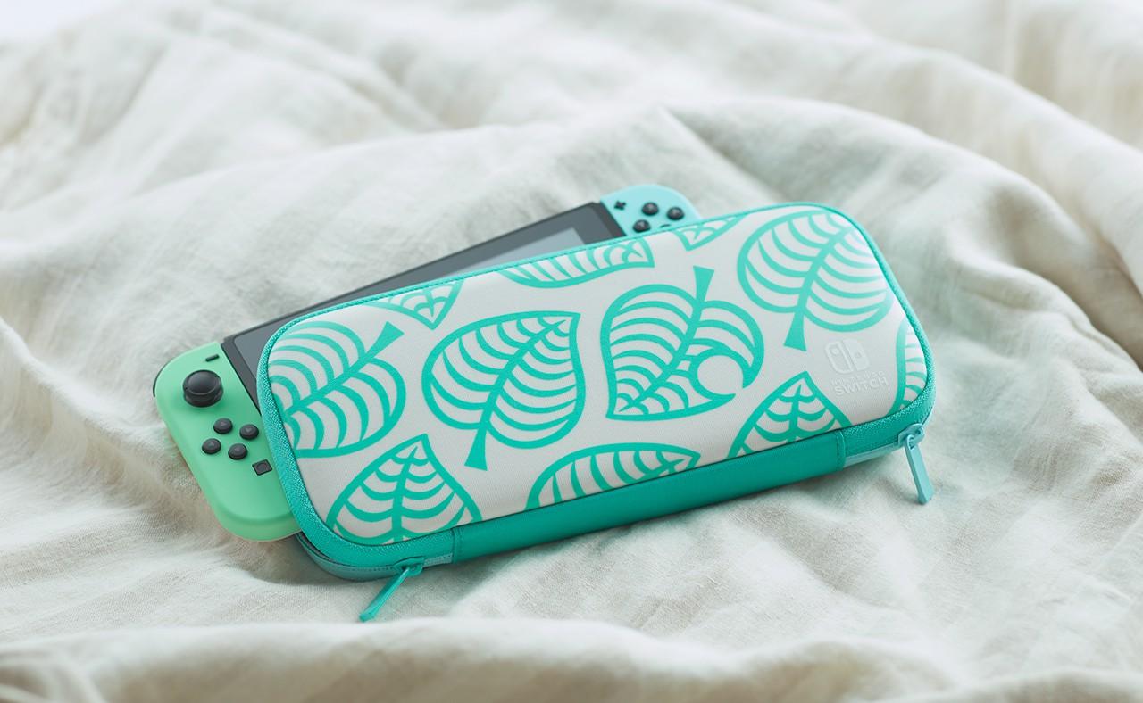 Nintendo también lanzará una funda y un protector de pantalla